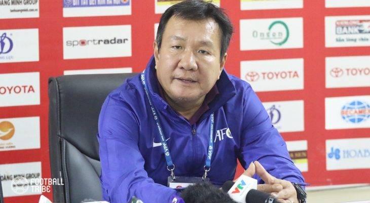 Quảng Nam thua trận, HLV Hoàng Văn Phúc không hài lòng với trọng tài
