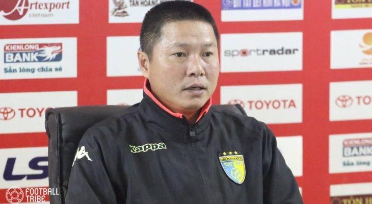 """HLV Chu Đình Nghiêm: """"Hà Nội vẫn có thể bị bật khỏi top 3"""""""