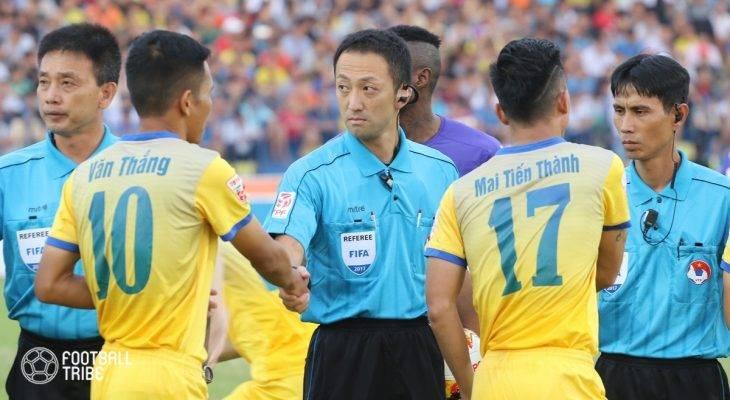 Trọng tài Malaysia bắt chính trận Quảng Nam gặp Than Quảng Ninh