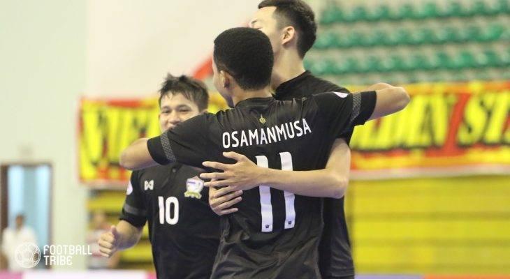 Thắng dễ Myanmar, Thái Lan vào chung kết Futsal Đông Nam Á
