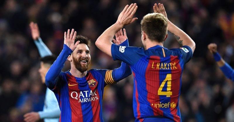 Messi Rakitic