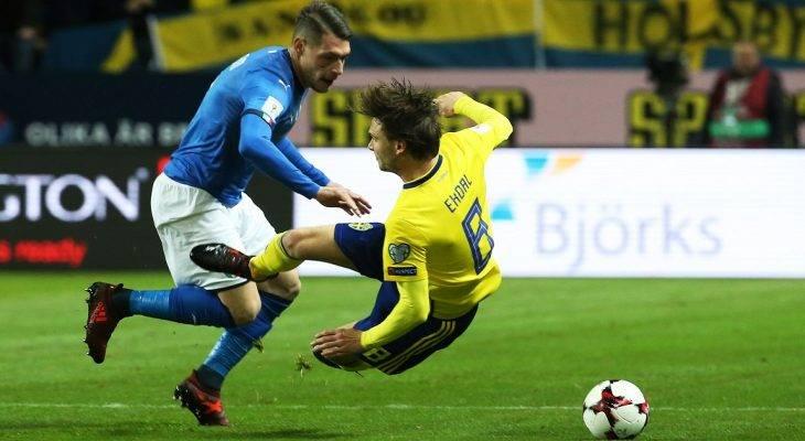 """Tiền vệ Thuỵ Điển: """"Italia yếu hơn chúng tôi nghĩ"""""""