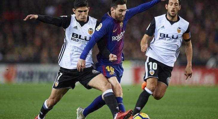 """Bị """"cướp"""" bàn thắng, Barca để Valencia cầm chân"""