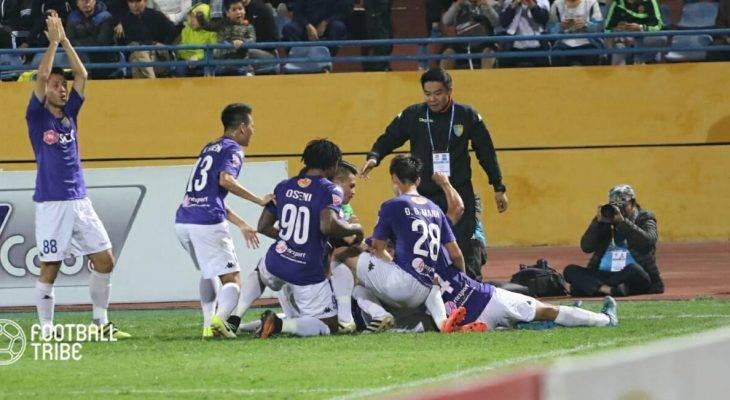 Tổng hợp vòng 25 V.League: Hà Nội lên ngôi đầu bảng