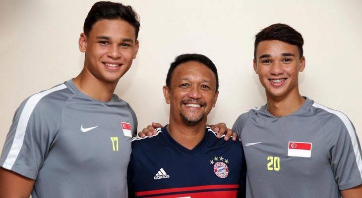 Theo gót cha, sao trẻ Singapore ra nước ngoài thi đấu?