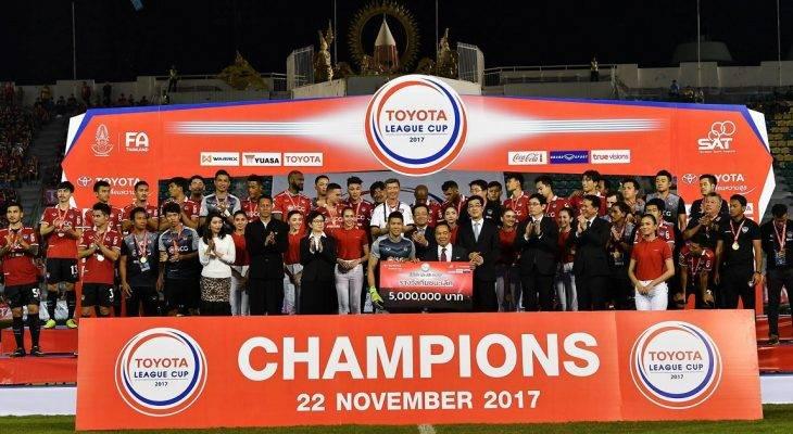 Giành League Cup Thái Lan, Muangthong dự Mekong Cup 2017