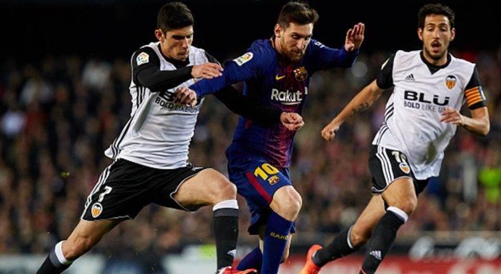Chấm điểm Valencia 1-1 Barcelona: Ngày thi đấu kém may của Messi