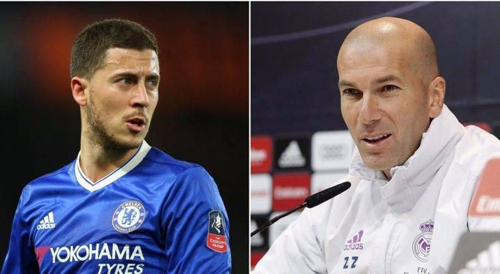 """Hazard muốn được làm """"học trò"""" của Zidane"""