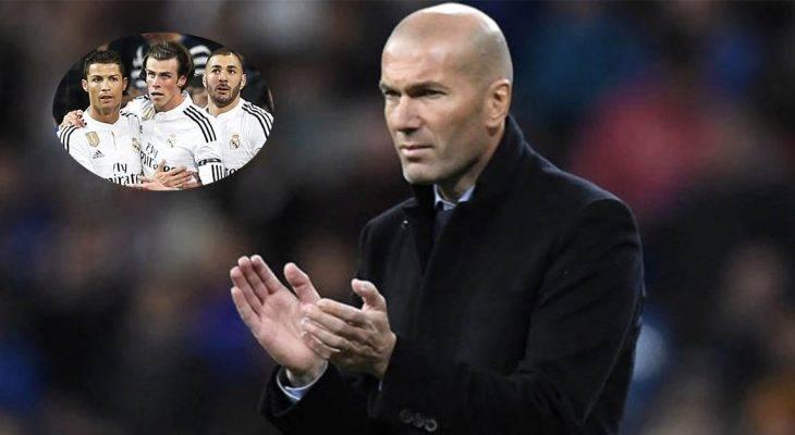"HLV Zidane muốn tái hợp bộ ba ""BBC"""
