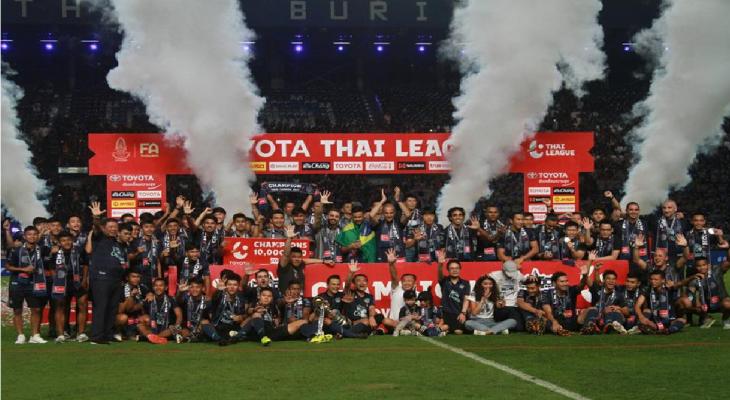 Buriram United trở thành nhà vô địch Thái Lan