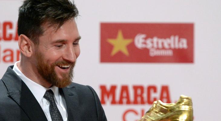 Messi lần thứ tư giành Chiếc Giày Vàng