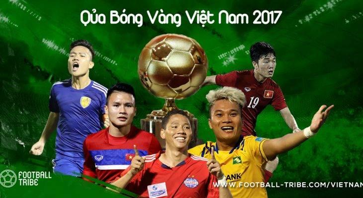 Trao giải Quả bóng vàng Việt Nam 2017
