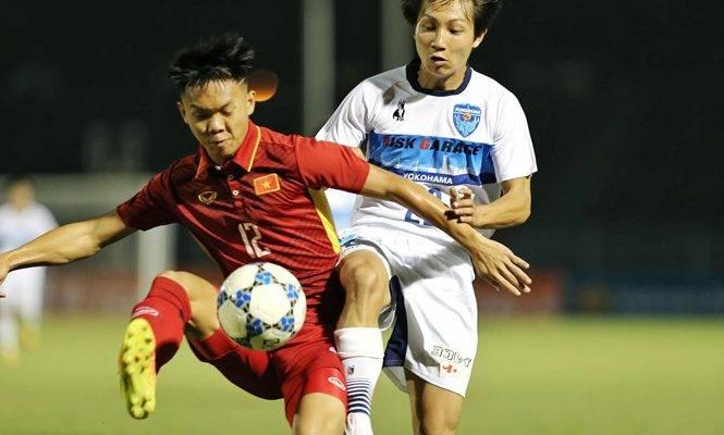 U19 Việt Nam không thể tạo bất ngờ trước U21 Yokohama