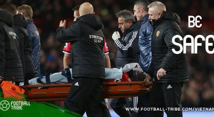 Những chấn thương vùng đầu nghiêm trọng nhất làng bóng đá châu Âu