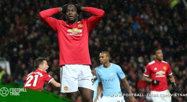 Lukaku hành hung đối phương sau trận derby Manchester