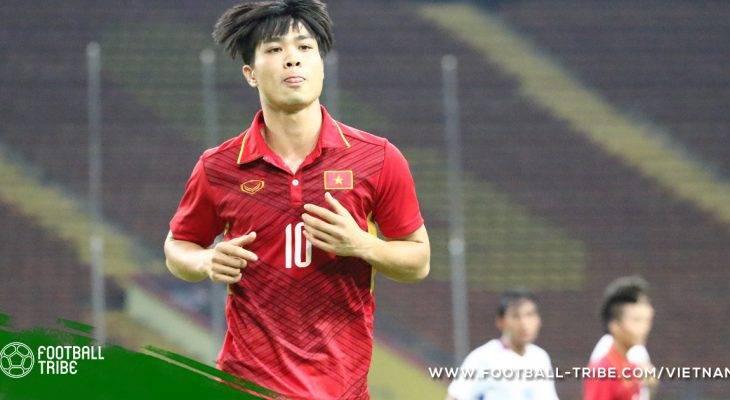 Công Phượng lập cú đúp, U23 Việt Nam hạ U23 Thái Lan