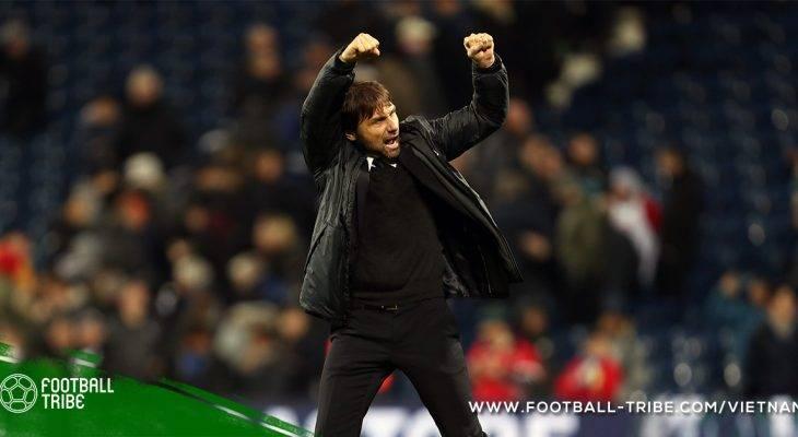 Conte đặt mục tiêu top bốn