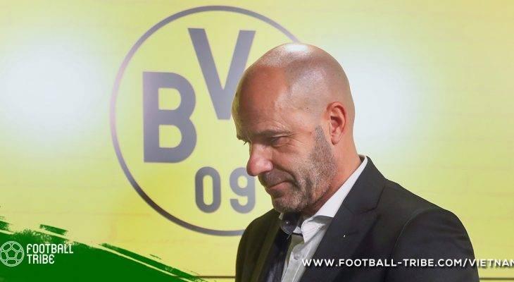 Dortmund sa thải Bosz, bổ nhiệm Stoger