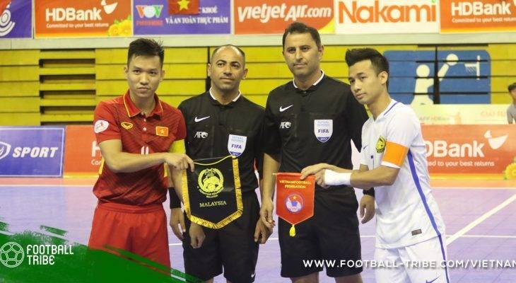 VCK Futsal châu Á 2018: Việt Nam tái ngộ Malaysia