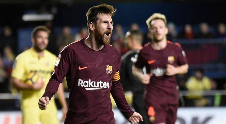 Chùm ảnh: Thi đấu hơn người, Barcelona hạ gục Villareal