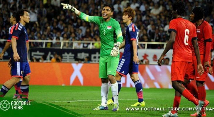 Thủ môn ĐT Singapore gia nhập đội hạng hai Thái Lan