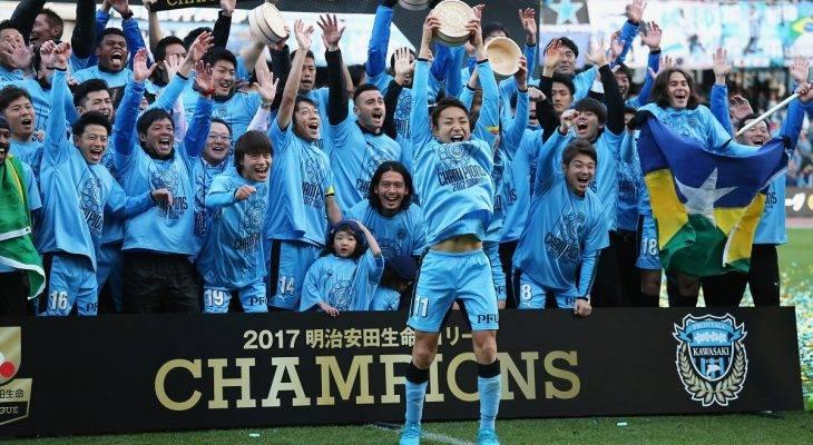 Kawasaki Frontale lần đầu lên ngôi vô địch J1 League