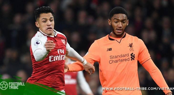 Những con số thú vị xoay quanh trận Arsenal 3 – 3 Liverpool
