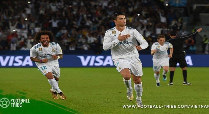 Cristiano Ronaldo bắt kịp kỉ lục của Pele