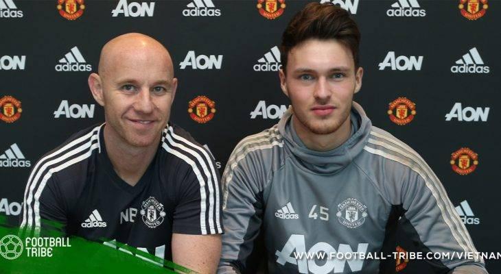 """Manchester United gia hạn hợp đồng với """"sao trẻ"""""""