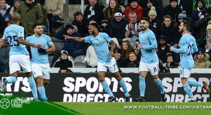 Premier League: Manchester City cô đơn trên đỉnh
