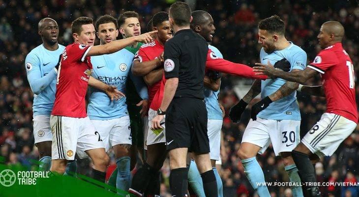 Derby Manchester: Cuộc ẩu đả sau trận đấu