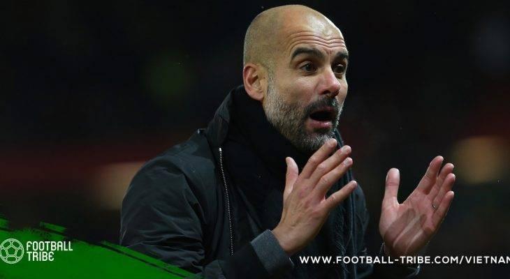 Pep Guardiola bổ sung thêm kỉ lục cá nhân