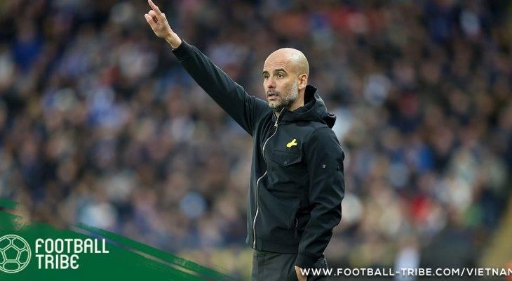 Derby Manchester: Pep Guardiola gửi đi thông điệp