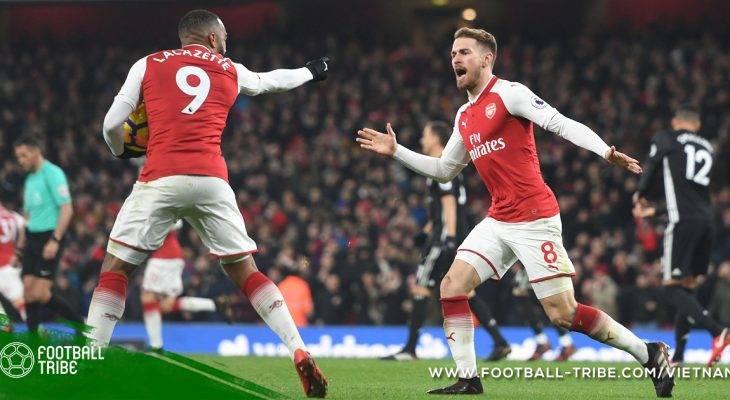 Arsenal mất tiền vệ trụ cột ở trận gặp Chelsea