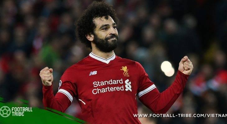 Salah đoạt danh hiệu Cầu thủ xuất sắc nhất châu Phi