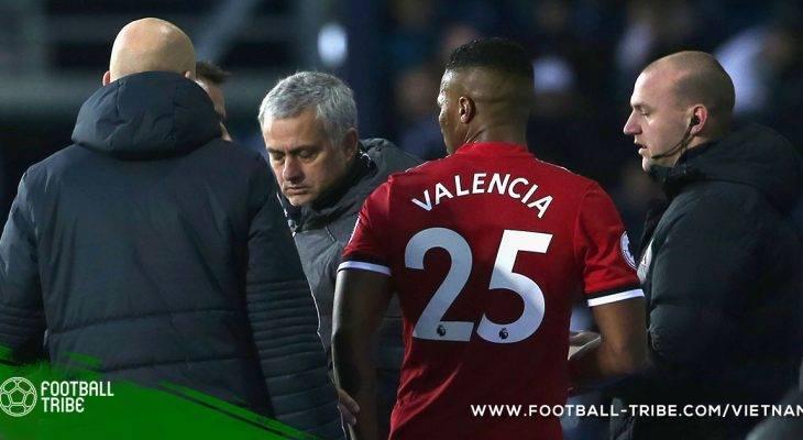 Valencia bị chấn thương do quá mệt mỏi