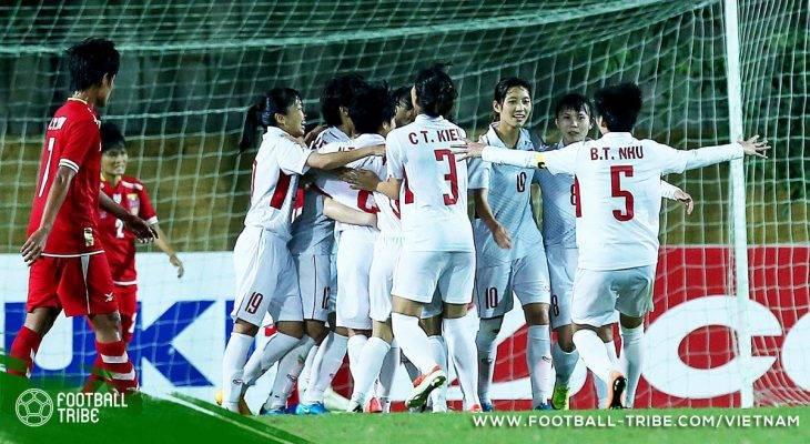 BXH FIFA nữ tháng 12/2017: Nữ Việt Nam tụt bậc