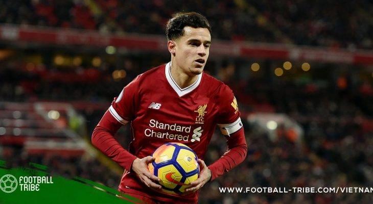 Coutinho úp mở khả năng rời Liverpool