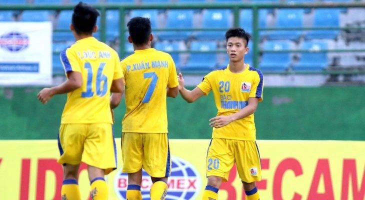 Trực tiếp bán kết U21 Quốc gia 2017