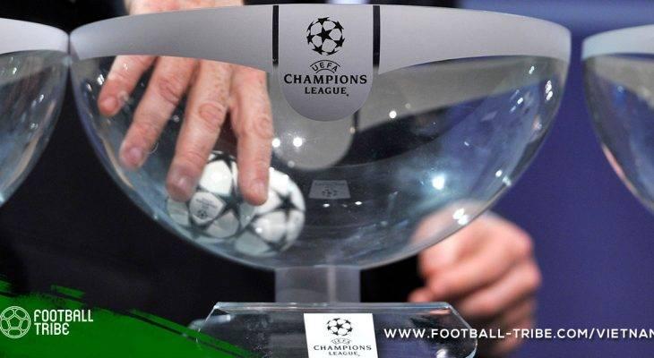 Những điều thú vị về các cặp đấu vòng knock out Champions League