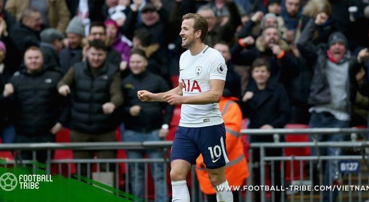 Harry Kane nguy cơ bỏ lỡ trận đấu đầu tiên năm 2018