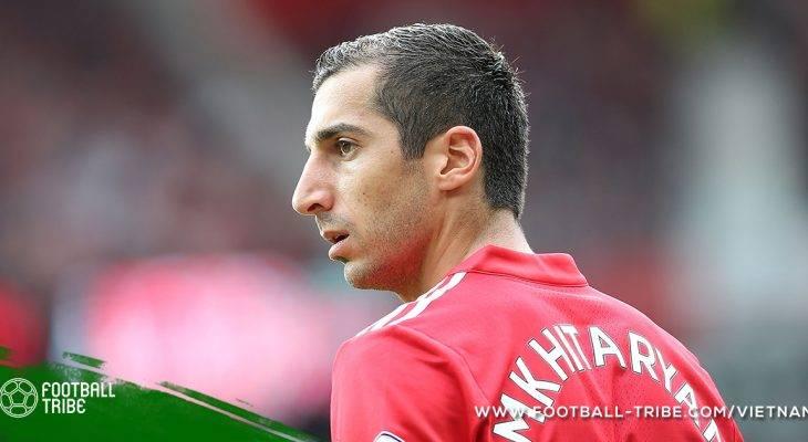 Cánh cửa trở về Dortmund thu hẹp với Mkhitaryan
