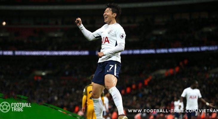 Son Heung Min đạt danh diệu cầu thủ xuất sắc nhất Hàn Quốc