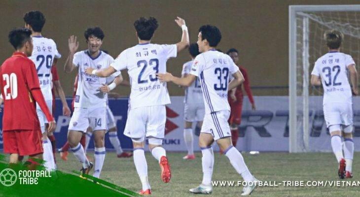 Thủng lưới phút bù giờ, U23 Việt Nam thất thủ trước Ulsan Hyundai