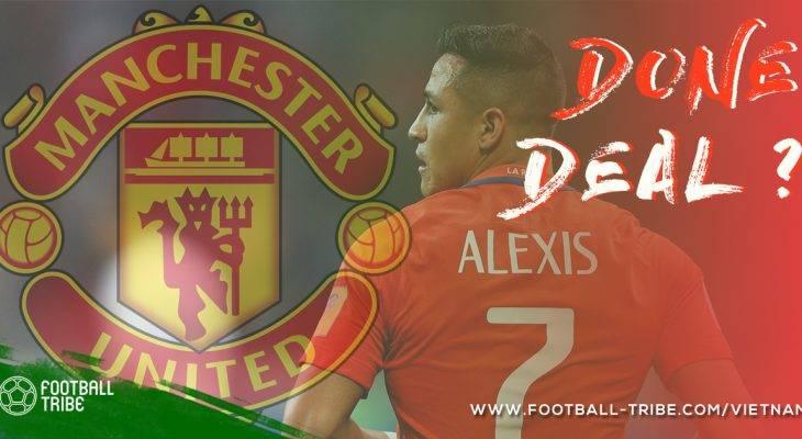 4 lí do để tin Alexis Sanchez chắc chắn sẽ đến Manchester United