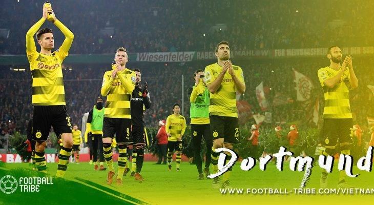 Borussia Dortmund: nhìn lại nửa chặng đường đã qua