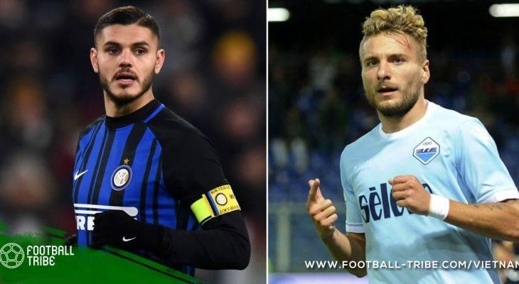 Icardi và Immobile: Tiền đạo nào hay nhất Serie A?