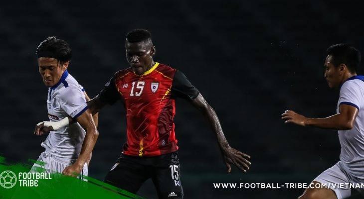 AFC Cup: Đội bóng Lào chiếm ưu thế