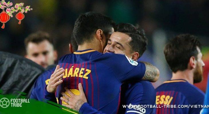 Luis Suarez lên tiếng bảo vệ Coutinho