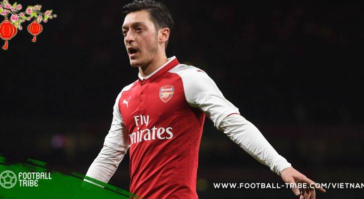 Mesut Oezil đồng ý đàm phán gia hạn hợp đồng với Arsenal